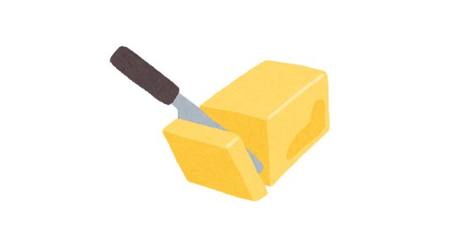 するするとバターがすくえて気持ちいい!「スプレッドザットバターナイフ」
