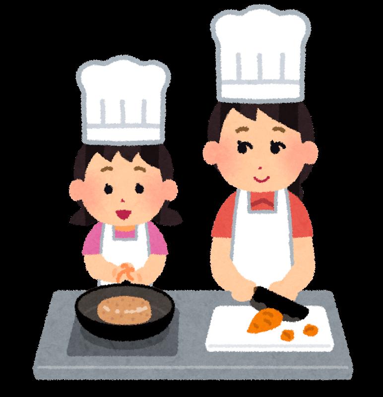 料理のお手伝い