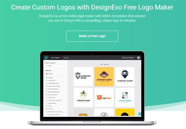 「DESIGNEVO」無料でも良いロゴを作りたい!