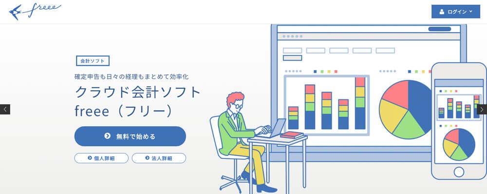 freee,会計ソフト,確定申告